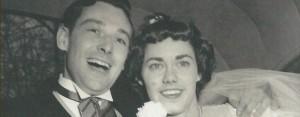 My wanderlust parents on their wedding day